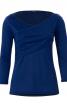 Пуловер із драпіровкою і ефектом запаху - фото 2