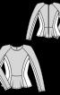 Пуловер в стилі колор-блокінг - фото 3