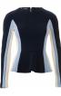 Пуловер в стилі колор-блокінг - фото 2