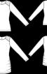 Пуловер з драпіровками і плечовими кокетками - фото 3