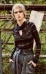 Пуловер з переплетеним коміром - фото 1