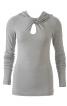 Пуловер з краплевидним отвором - фото 2