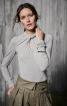 Пуловер з краплевидним отвором - фото 1
