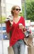 Пуловер з драпіровкою на вирізі горловини - фото 1