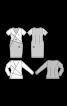 Пуловер трикотажний обтислого крою - фото 3