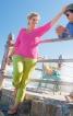 Пуловер приталеного крою з рукавами 3/4 - фото 1
