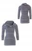 Пуловер приталеного крою з коміром-хомутом - фото 2