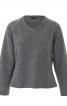 Пуловер реглан зі знімним коміром гольф - фото 4