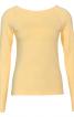 Пуловер з вирізом човником і рукавами реглан - фото 2