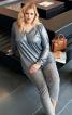 Пуловер реглан з V-подібним вирізом - фото 1