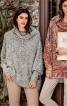Пуловер широкий із суцільнокроєним коміром - фото 1