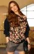 Пуловер з вирізом човником - фото 1