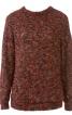 Пуловер з коміром-стійкою - фото 2