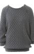 Пуловер з манжетами і поясом - фото 2