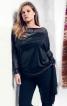 Пуловер з суцільнокроєними рукавами - фото 1