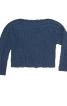 Пуловер з широким вирізом горловини - фото 2