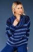 Пуловер реглан з максі-коміром гольф - фото 4