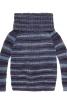 Пуловер реглан з максі-коміром гольф - фото 2