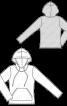 Анорак з капюшоном і кишенею-«кенгуру» - фото 3