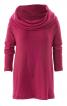 Пуловер з рукавами реглан і коміром-хомутом - фото 2