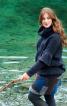 Пуловер з оборками і знімним коміром - фото 1