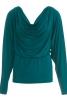 Пуловер з куліскою на талії - фото 2