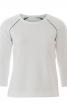 Пуловер з рукавами реглан і вирізами на спинці - фото 2