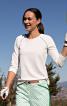 Пуловер з рукавами реглан і вирізами на спинці - фото 4