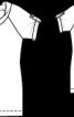 Пуловер з короткими рукавами - фото 3