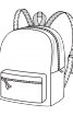 Рюкзак з кишенею-портфелем - фото 3