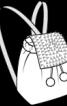 Рюкзак зі штучної шкіри під овчину - фото 3
