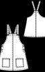 Сарафан вельветовий  розкльошеного крою - фото 3