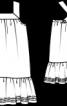Сукня на перехрещених бретелях - фото 3