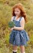 Сарафан на бретелях для дівчинки - фото 1