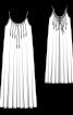 Сарафан макси широкого кроя - фото 3