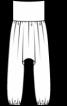 Шальвари на еластичному поясі - фото 3