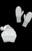 Шапка з помпоном і рукавиці - фото 3
