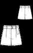 Шорти-бермуди з поясом - фото 3