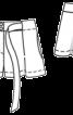 Шорти короткі з кишенями в бокових швах - фото 3