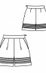 Шорти зі складками біля пояса - фото 3