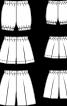 Штанці батистові на резинці - фото 3