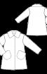 Пальто хутряне з відкладним коміром - фото 3