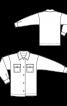 Сорочка-жакет із нагрудними кишенями - фото 3