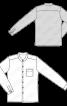 Сорочка лляна з коміром-стойкою - фото 3