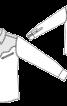 Сорочка в ковбойському стилі на кнопках - фото 2