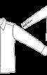 Сорочка класичного крою з потайною застібкою - фото 2