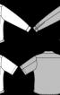 Сорочка з короткими рукавами і розрізами у бокових швах - фото 3