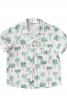 Сорочка з лацканами і короткими рукавами - фото 2