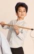 Сорочка з коміром-стійкою для хлопчика - фото 1