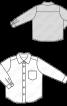 Сорочка в класичному стилі з довгими рукавами - фото 3